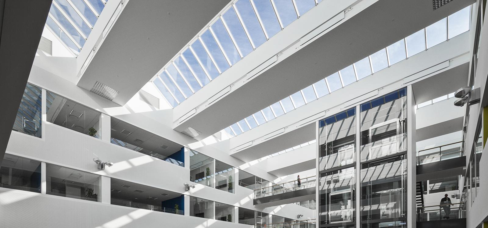 VELUX modular skylight letting the sunlight in